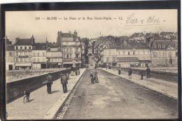 41217 . BLOIS . LE PONT ET LA RUE DENIS PAPIN . LL . (recto/verso)  ANIMATION - Blois