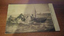 Cartolina: Mosè Bianchi Traversata In Laguna Viaggiata(a24) - Postcards