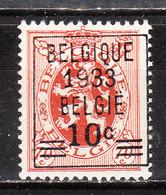 375**  Lion Héraldique Avec Préoblitération - Bonne Valeur - MNH** - COB 80 - Vendu à 11% Du COB!!!! - Belgique