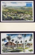 MICRONESIE 1991  BLOC NOUVELLE CAPITALE  YVERT N°B7/8  NEUF MNH** - Micronésie