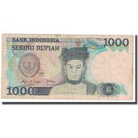Billet, Indonésie, 1000 Rupiah, 1987, KM:124a, TB - Indonésie