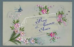 CPA EN PLASTIQUE - BONNE ANNÉE - Cartes Postales