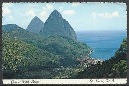 Saint Lucia, The Pitons,  1977(?).. - Santa Lucia