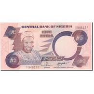 Billet, Nigéria, 5 Naira, KM:24f, NEUF - Nigeria