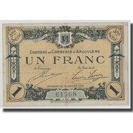 France, Angoulême, 1 Franc, 1915, TTB, Pirot:9-16 - Chamber Of Commerce