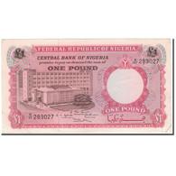 Billet, Nigéria, 1 Pound, KM:8, TTB - Nigeria