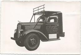 Dodge. Oldtimer. P.Bogaert, Handelaar En Vervoer, Kieldrecht. Originele Foto. - Automobile
