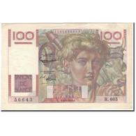 France, 100 Francs, 100 F 1945-1954 ''Jeune Paysan'', 1952-09-04, SUP - 1871-1952 Anciens Francs Circulés Au XXème