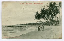 CPA - Carte Postale - Sea Shore - Mount Lavinia - 1905 (SV6120) - Sri Lanka (Ceylon)