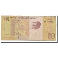 Billet, Angola, 50 Kwanzas, 2012, Octobre 2012, KM:152, B - Angola