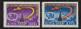 Russie 1960 N° Y&T :  2329 Et 2330 ** - Nuevos