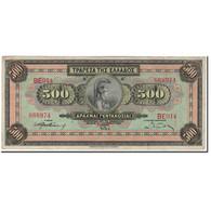 Billet, Grèce, 500 Drachmai, 1932-10-01, KM:102a, TTB - Grèce