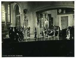 Cinéma : Françoise Arnould Au Jeu D'échecs Dans Le Film Sait On Jamais De Roger Vadim Par Raymond Voinquel - Célébrités