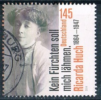 2014   150. Geburtstag Von Ricarda Huch - Used Stamps