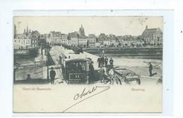 Maastricht Maasbrug Groet Uit ( Tram ) - Maastricht