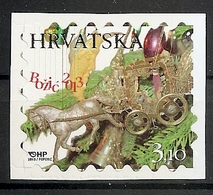 CROATIA 2013,CHRISTMAS,ADHESIV,SELBSTICK,,MNH - Croatie