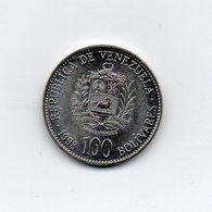 Venezuela - 1998 - 100 Bolivares - Vedi Foto - (MW1712) - Venezuela
