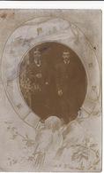 30 NIMES CARTE PHOTO PRISE DEVANT LE RESTAURANT DURAND (1907) 2 Scans - Nîmes