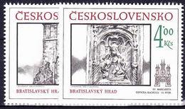 ** Tchécoslovaquie 1986 Mi 2873-4 (Yv 2686-7), (MNH) - Tchécoslovaquie