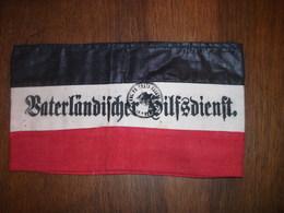 1914-1918  Brassard Du Service Patriotique Allemand - Uniformes
