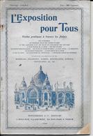 L'Exposition Pour Tous   1900  Guide De Visite - Dépliants Turistici