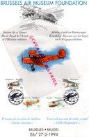 BELGIQUE BRUSSELS- BRUSSEL-BRUXELLES-AIR MUSEUM FOUNDATION-AIR ESPACE-MUSEE ROYAL ARMEE-AVIATION AVION 1994 - Poste Aérienne