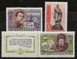 Russie 1961 N° Y&T :  2392 à 2394 ** - 1923-1991 USSR