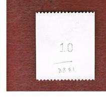 SVEZIA (SWEDEN) - SG 1388 - 1988 COASTAL WILDLIFE: ANGUILLA ANGUILLA (WITH NUMBER AT BACK)             - USED ° - Suède
