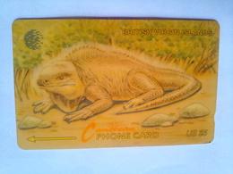 20CBVA Iguana $5 - Virgin Islands
