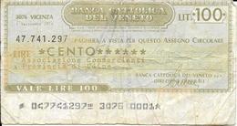 Banca Cattolica Del Veneto - [ 2] 1946-… : Républic