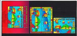 VV858 UNO NEW YORK  1997 MICHL 736/40 + BLOCK 14 I  ** Postfrisch Siehe ABBILBUNG - New York -  VN Hauptquartier