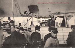 Thématiques 2018 Commémoration Fin De Guerre 1914 1918 Atterrissage D'un Zeppelin Allemand à Lunéville - War 1914-18
