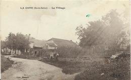 ~  JP  ~  70  ~  LA  COTE  ~  Le Village   ~ - Frankreich