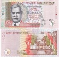 Mauritius - 100 Rupees 2013 AUNC Lemberg-Zp - Maurice