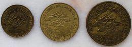 Lot De Monnaies Du Cameroun Afrique Equatoriale - Cameroun
