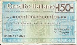 Credito Italiano - [ 2] 1946-… : Républic