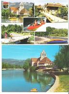 BEAULIEU SUR DORDOGNE. 2 CP Camping Des Iles Multivues - Les Bords De La Dordogne - Sonstige Gemeinden