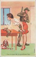 CPA:  Illustrateur  CARRIERE:  Tues Le Plus Tôt, La Prochaine Fois.      (E1095.) - Carrière, Louis