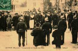 53.....MAYENNE....JAVRON.....inauguration De L'ecole Des Filles - Frankreich