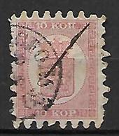 FINLANDE   -    1860  .  Y&T N° 4 Oblitéré. - 1856-1917 Russian Government