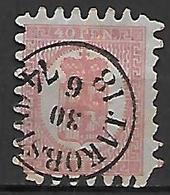 FINLANDE   -    1866  .  Y&T N° 9 Oblitéré. - 1856-1917 Russian Government