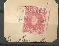 MATASELLOS CRTERIA ARBECA - TARRAGONA  RECORTADO - 1889-1931 Reino: Alfonso XIII
