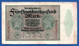 Allemagne  -  500 000 Mark  -  1/05/1923  - Pick # 87  -  état  TB+ - 1918-1933: Weimarer Republik