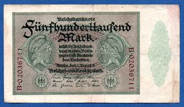 Allemagne  -  500 000 Mark  -  1/05/1923  - Pick # 87  -  état  TB+ - [ 3] 1918-1933: Weimarrepubliek