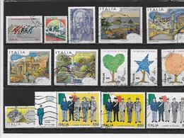 ITALIE 1691/1694 à 1701/1703 à 1706 Oblitérés Rond - 1981-90: Gebraucht