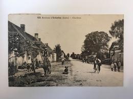 Environs D'Ardentes - Clavières - France