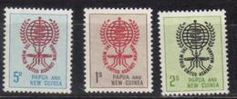 PAPOUASIE Nll GUINEE N° 44 à 46 Neufs** Cote 10€ - Papouasie-Nouvelle-Guinée