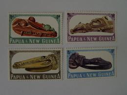PAPOUASIE Nll GUINEE N° 73 à 76 Neufs** Cote 9,50€ - Papouasie-Nouvelle-Guinée