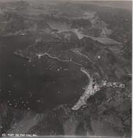 Grande Photographie Aérienne/Retirage D'époque/Viet Nam/Baie D'Along/Frassati?/Port De Pho-Cac-Ba/Vers1945-1955 PHOTN464 - Otros
