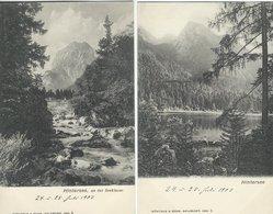 Austria - Hintersee  2 Old Cards. S-4464 - Austria